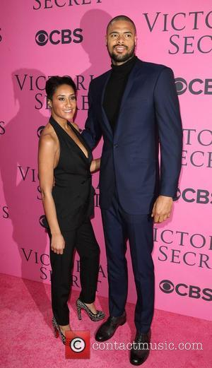 Kimberly Chandler, Tyson Chandler and Victoria's Secret Fashion Show