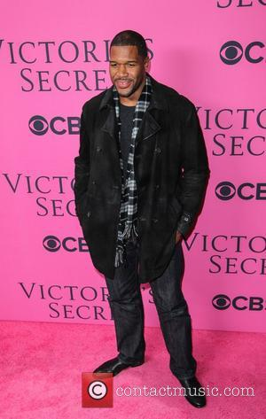 Michael Strahan on the Pink Carpet at the Victoria's Secret Fashion Show New York City, USA - 07-11-12