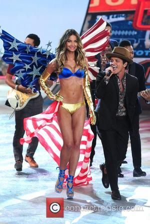 Bruno Mars Performs at the Victoria's Secret Fashion Show at the Lexington Avenue Armory New York City, USA - 07.11.12