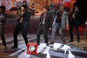 Bruno Mars performs The Victoria's Secret Fashion Show at the Lexington Avenue Armory New York City, USA - 07.11.12