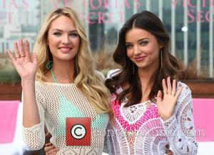 Candice Swanepoel, Miranda Kerr and Victoria's Secret