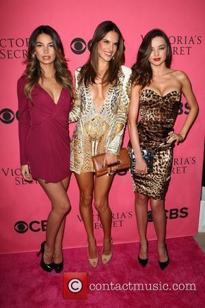 Lily Aldridge, Alessandra Ambrosio, Miranda Kerr and Victoria's Secret