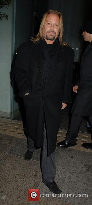 Vince Neil  leaving his hotel London, England - 14.12.11
