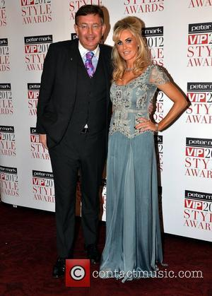 Gerald Kean, Lisa Murphy The VIP Style Awards at the Shelbourne Hotel - Arrivals  Dublin, Ireland - 23.03.12