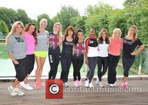 Lydia Bright, Chelsee Healey, Kay Burley, Michelle Heaton, Nell Mcandrew, Nicola Mclean and Zoe Hardman