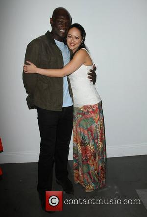 Peter Mensah, Marisa Ramirez Visual Impact Now Charity Event Held at Silverspoon West Hollywood, California - 15.03.12