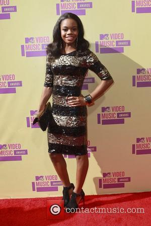 Gabby Douglas 2012 MTV Video Music Awards, held at the Staples Center - Arrivals Los Angeles, California - 06.09.12