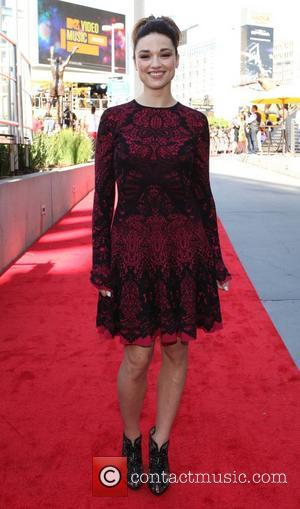 Crystal Reed 2012 MTV Video Music Awards, held at the Staples Center - Arrivals  Los Angeles, California - 06.09.12