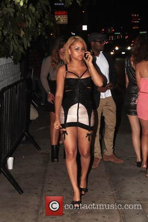 Kat Deluna Icons and Idols 2012 VMA after party hosted by In Touch Weekly at the Chateau Marmont - Outside...