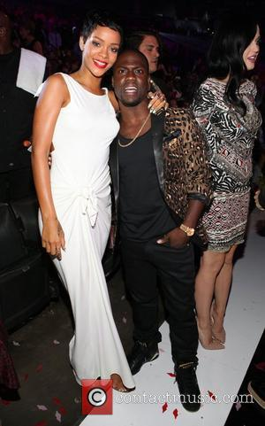 Rihanna and Kevin Hart