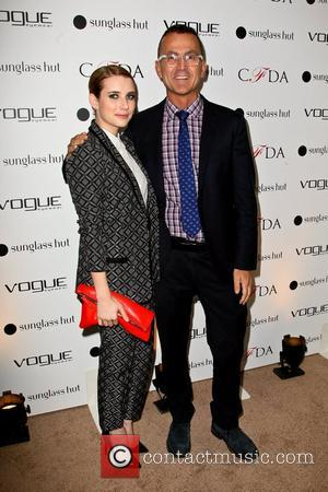 Emma Roberts and Steven Kolb