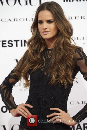 Izabel Goulart at the  Vogue December Issue Launch Party at Palacio Fernan Nunez. Madrid, Spain- 27.11.12 ***Not Available for...