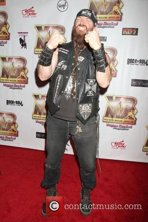Zakk Wylde Vegas Rocks Magazine Awards 2012 At The Joint Inside The Hardrock Hotel and Casino.  Las Vegas, Nevada...