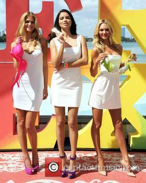 Erin Heatherton, Adriana Lima and Candice Swanepoel