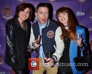 Eva Jane Gaffney, Evan Doherty, Lisa Marie McCarroll,  at the VVIP Awards 2012 at Andrews Lane Theatre. Dublin, Ireland...