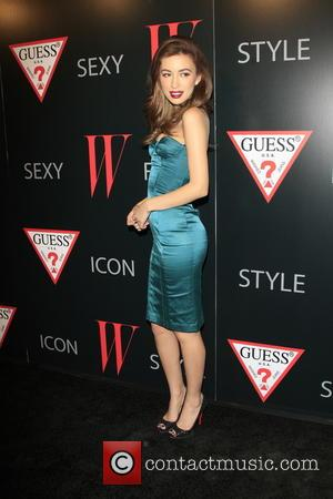 Christian Serratos W Magazine and GUESS Celebrate 30 Years Of Fashion and Film and The Next Generation of Style Icons...