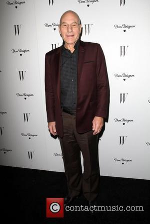 Patrick Stewart and Golden Globe
