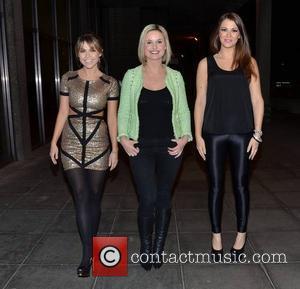 Adele Silva, Siobhan O'connor and Natasha Giggs