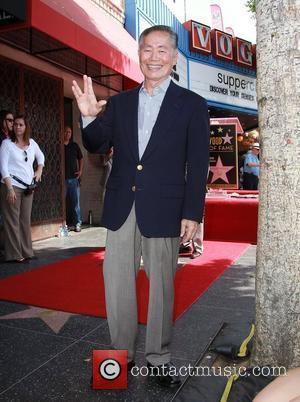 George Takei and Star On The Hollywood Walk Of Fame