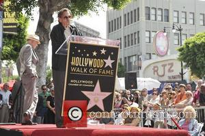 Leonard Nimoy, Walter Koenig and Star On The Hollywood Walk Of Fame