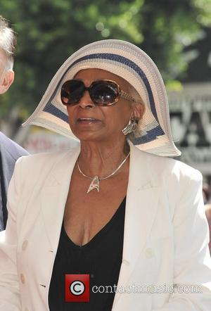 Nichelle Nichols,  at the Walter Koenig honor with a Star on the Hollywood Walk of Fame. Hollywood, California -...