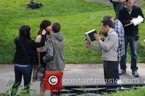 Kristen Wiig, Ben Stiller and Central Park