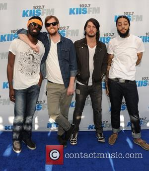 Travie McCoy and the Gym Class Heroes 102.7 KIIS FM's Wango Tango at The Home Depot Center - Arrivals Los...