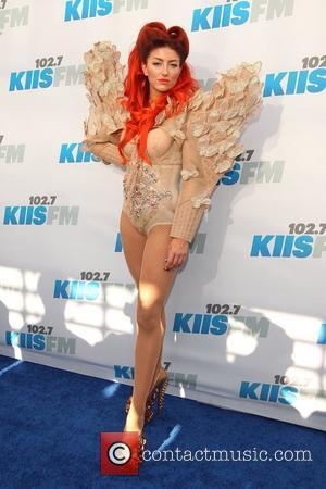 Neon Hitch 102.7 KIIS FM's Wango Tango at The Home Depot Center - Arrivals Los Angeles, California - 12.05.12