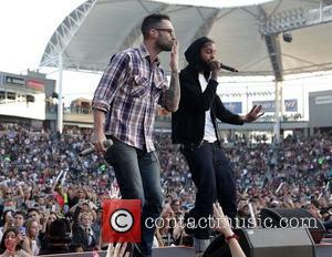 Adam Levine, Gym Class Heroes and Travis Mccoy