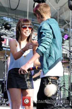 Carly Rae Jepsen and Justin Bieber