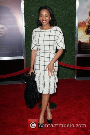 Anika Noni Rose,  at the World Premiere of 'War Horse' at Avery Fisher Hall in the Lincoln Center for...