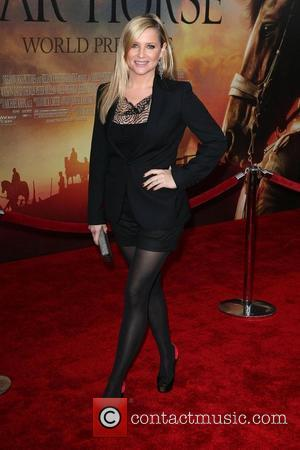 Jessica Capshaw,  at the World Premiere of 'War Horse' at Avery Fisher Hall in the Lincoln Center for The...