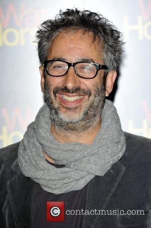 David Baddiel Attends the 5th anniversary performance of 'War Horse' at The New London Theatre, Drury Lane  London, England...