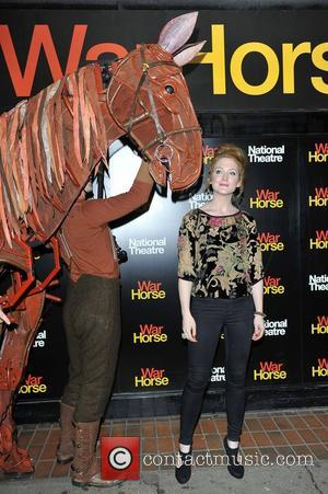 Olivia Hallinan Attends the 5th anniversary performance of 'War Horse' at The New London Theatre, Drury Lane  London, England...