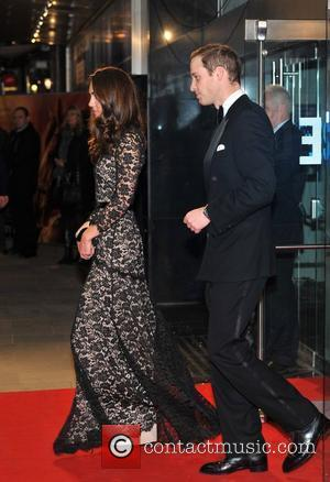 Prince William, Duchess, Kate Middleton and Odeon Leicester Square