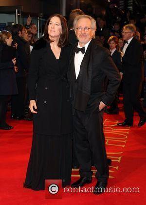 Kathleen Kennedy and Steven Spielberg
