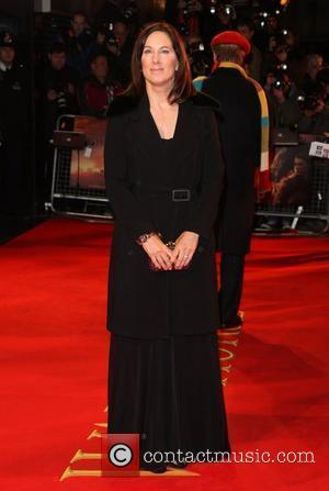 Kathleen Kennedy War Horse UK premiere - Arrivals London, England - 08.01.12