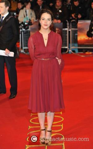 Jessica Brown War Horse - UK film premiere held at the Odeon Leicester Square - Arrivals. London, England - 08.01.12