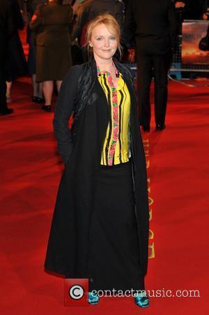 Miranda Richardson and Odeon Leicester Square