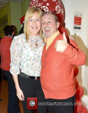 Brendan O'Carroll & wife Jenny Celebrities attend the annual Our Lady's Hospital for Sick Children Christmas Ward Walk, Dublin, Ireland...