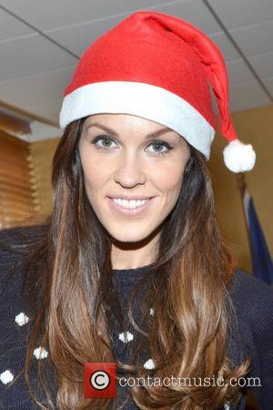 Glenda Gilson Celebrities attend the annual Our Lady's Hospital for Sick Children Christmas Ward Walk, Dublin, Ireland - 19.12.12.