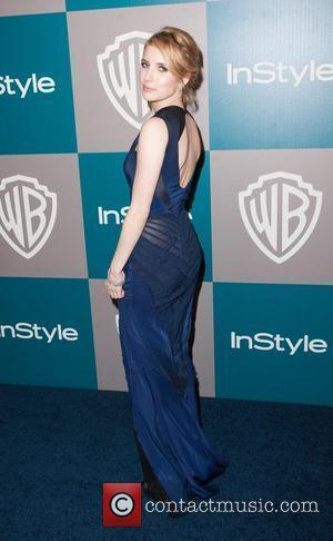 Emma Roberts and Beverly Hilton Hotel