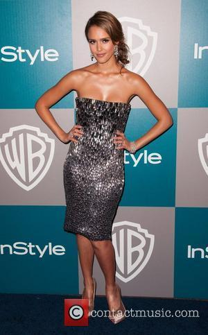 Jessica Alba The 69th Annual Golden Globe Awards (Golden Globes 2012) 13th Annual Warner Bros. And InStyle After Party at...