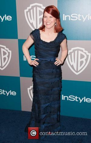 Kate Flannery and Beverly Hilton Hotel