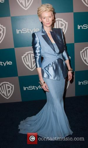 Tilda Swinton The 69th Annual Golden Globe Awards (Golden Globes 2012) 13th Annual Warner Bros. And InStyle After Party at...
