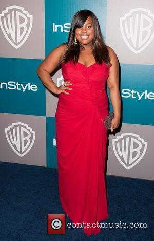 Amber Riley and Beverly Hilton Hotel