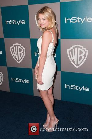 Ashley Benson and Beverly Hilton Hotel