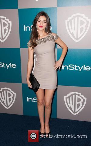 Victoria Justice and Beverly Hilton Hotel
