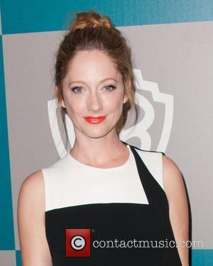 Judy Greer and Beverly Hilton Hotel