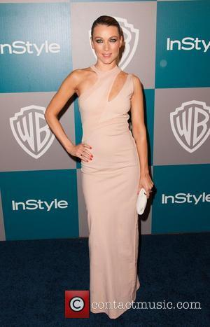 Natalie Zea and Beverly Hilton Hotel